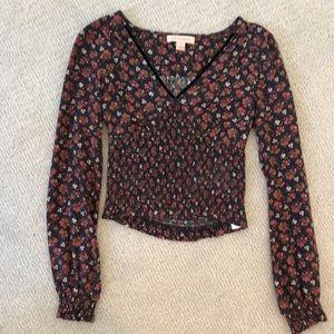 Long sleeve shirt floral